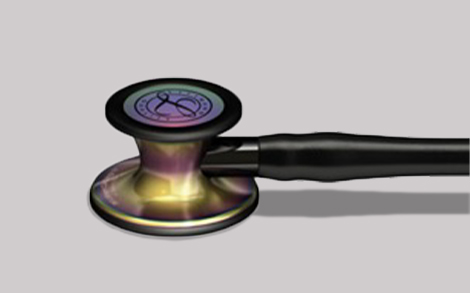 Littman Cardiology IV Stethoscope showing chestpiece