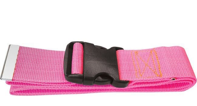 Pink medical gait belt