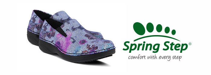 spring step nursing shoes