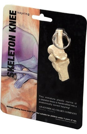 Anatomical Chart Company Knee Key Ring