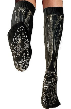 Anatomical Chart Company Unisex Halloween Bone Socks