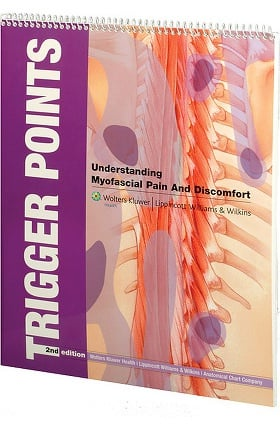 Anatomical Chart Company Trigger Points: Understanding Myofascial Pain & Discomfort Book