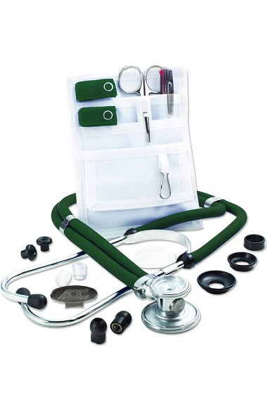American Diagnostic Corporation Nurse Combo Pocket Pal II Adscope 641 Sprague Stethoscope Kit