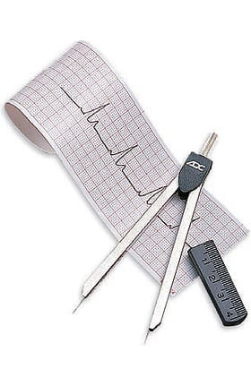 American Diagnostic Corporation EKG Caliper