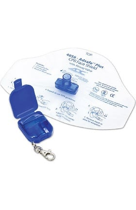 American Diagnostic Corporation Adsafe Plus CPR Face Shield with Keychain
