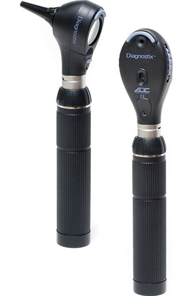 American Diagnostic Corporation 3.5V Diagnostix Portable Otoscope & Ophthalmoscope Set - 3.5V Oto Led/Oph Coax