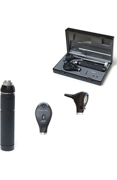 American Diagnostic Corporation 3.5V Diagnostix Portable Otoscope & Coax Plus Ophthalmoscope Set - Oto Led/Oph Coax+