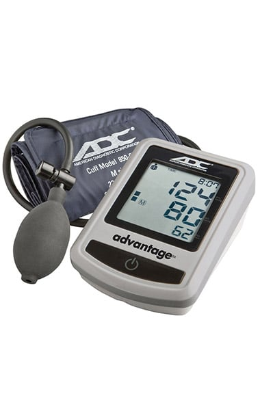 ADC Advantage 6012 Semi-Automatic Blood Pressure Monitor