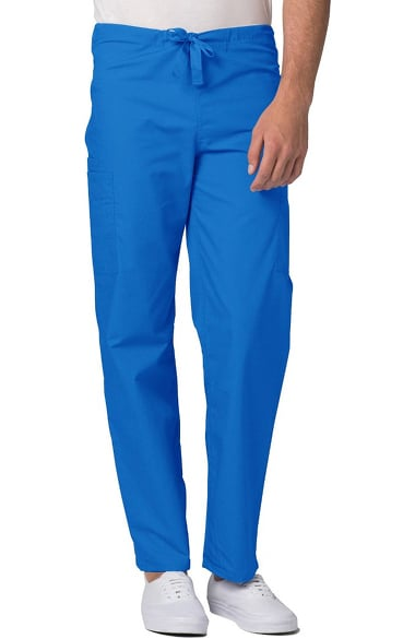 Universal Basics by Adar Unisex Tapered Leg 5 Pocket Scrub Pant
