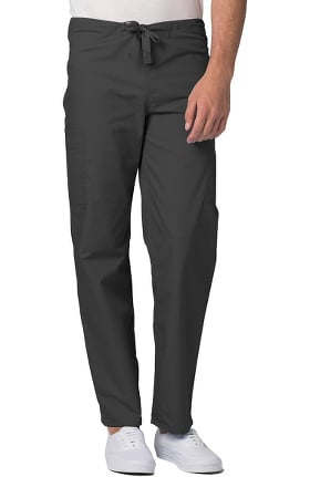 Clearance Universal Basics by Adar Unisex Tapered Leg 5 Pocket Scrub Pant