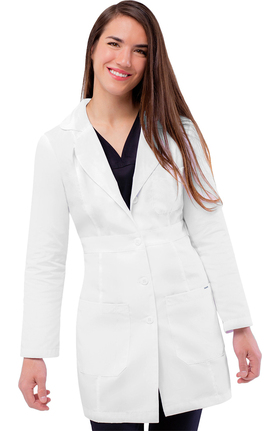 "Universal Lab Coats by Adar Women's 33"" Belted Lab Coat"