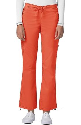 Clearance Pop Stretch Taskwear by Adar Women's Boot Cut Cargo Scrub Pant