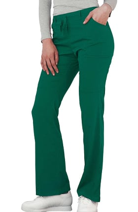 Clearance Indulgence by Adar Women's Low Rise Boot Cut Scrub Pant