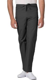 Universal Basics by Adar Unisex Drawstring Solid Scrub Pants