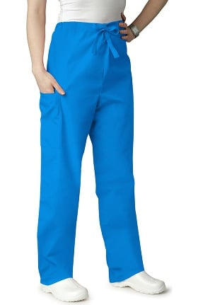 Clearance Universal Basics by Adar Unisex Drawstring Solid Scrub Pants