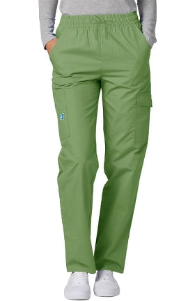 Universal Basics by Adar Unisex Multi Pocket Solid Scrub Pants