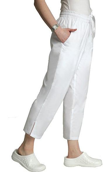 Universal Basics By Adar Women S Side Pocket Capri Solid