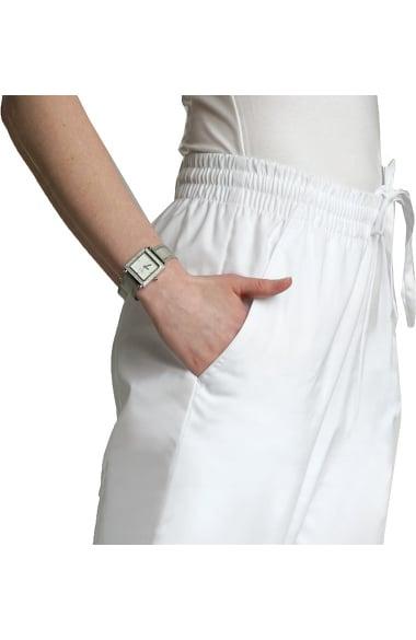 e55da0b3994 Universal Basics by Adar Women's Side Pocket Capri Solid Scrub Pant
