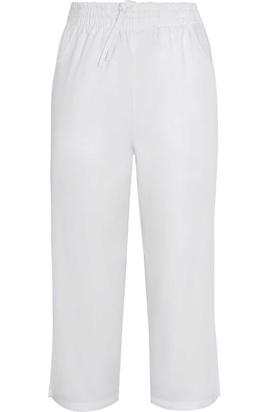 2bcf825bd95 Universal Basics by Adar Women's Side Pocket Capri Solid Scrub Pant. 1