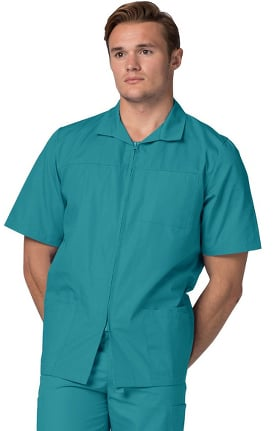 "Clearance Universal Basics by Adar Men's Zippered 30"" Consultation Lab Coat"