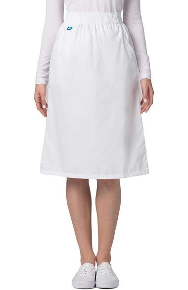 Universal Basics by Adar Women's A-Line Side Pocket Scrub Skirt