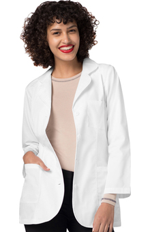 "Universal Lab Coats by Adar Women's 30"" Princess Seam Consult Lab Coat"