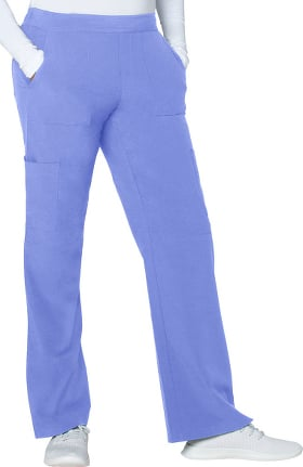 Addition by Adar Women's Flat Front Cargo Scrub Pant