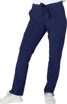 Addition by Adar Women's Skinny Leg Cargo Scrub Pant