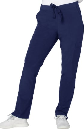 Addition by Adar Women's Skinny Leg Cargo Scrub Pant