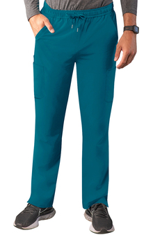 Addition by Adar Men's Slim Leg Cargo Scrub Pant