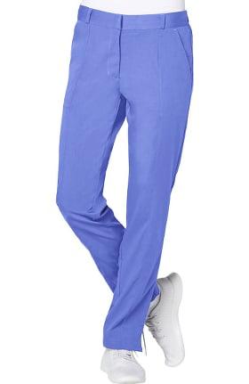 Clearance Pro by Adar Women's Flat Front Trouser Scrub Pant