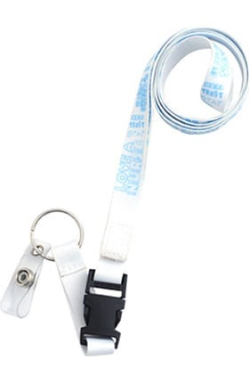Scrub Stuff Women's Nurse Graffiti Breakaway Clip Lanyard