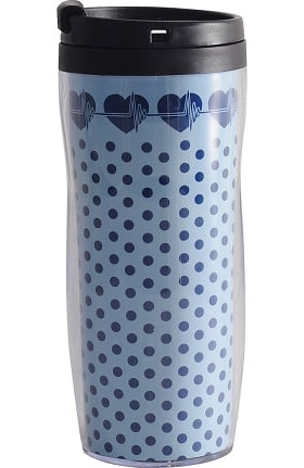 Scrub Stuff EKG Heart Travel Mug