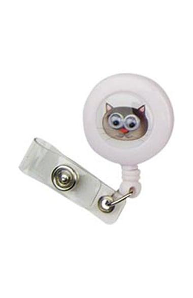Scrub Stuff Pop Eyes Retractable Badge Holder