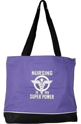 Scrub Stuff Women's Nursing Is My Super Power Tote