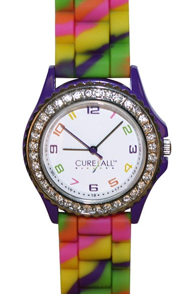 Scrub Stuff Women's Cure All Cancer Awareness Watch