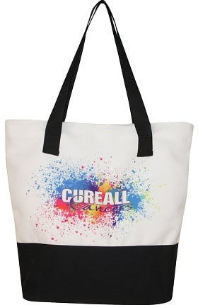 Scrub Stuff Cure All Cancer Awareness Beach Tote