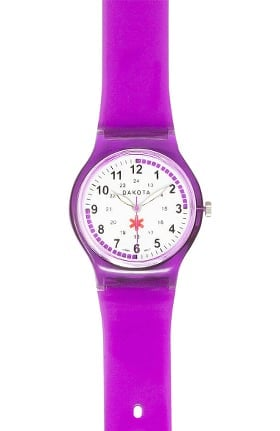 Scrub Stuff Jelly Band Nurse Watch