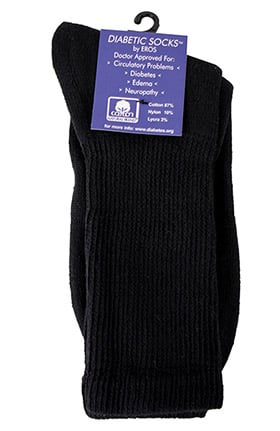 Scrub Stuff Diabetic Knit Crew Sock
