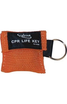 Scrub Stuff Compact First Aid CPR Mask Keychain