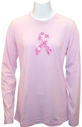 Scrub Stuff Women's Long Sleeve BCA Print T-Shirt