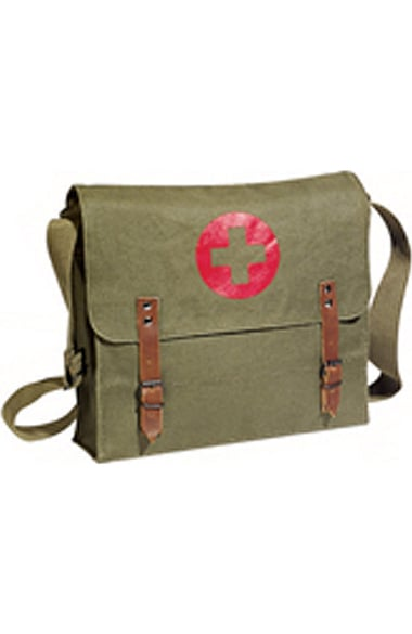 Scrub Stuff Unisex Canvas Medic Bag - Olive