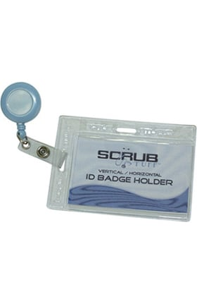 Clearance Scrub Stuff 2-Way ID Badge Holder