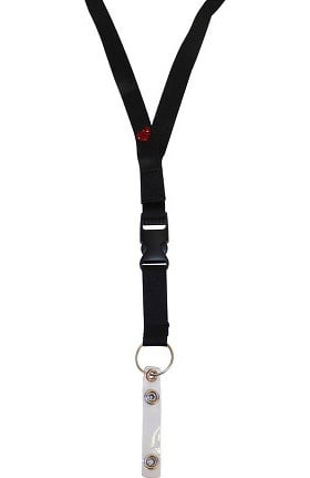 Scrub Stuff Bling Heart Lanyard
