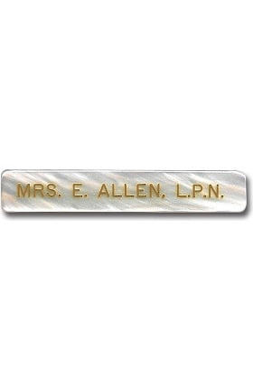 Arthur Farb Medium Ocean Pearl Engraved Pin