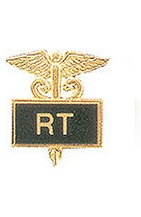 Arthur Farb RT Gold Plated Inlaid Emblem Pin