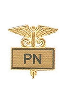 Arthur Farb PN Gold Plated Inlaid Emblem Pin