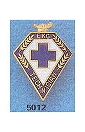Clearance Arthur Farb EKG Technician Pin