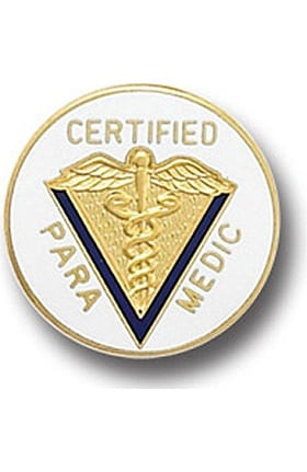 Arthur Farb Certified Paramedic Pin