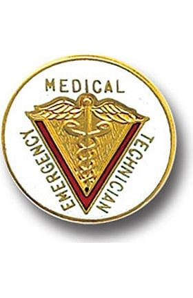 Arthur Farb Medical Emergency Technician Pin